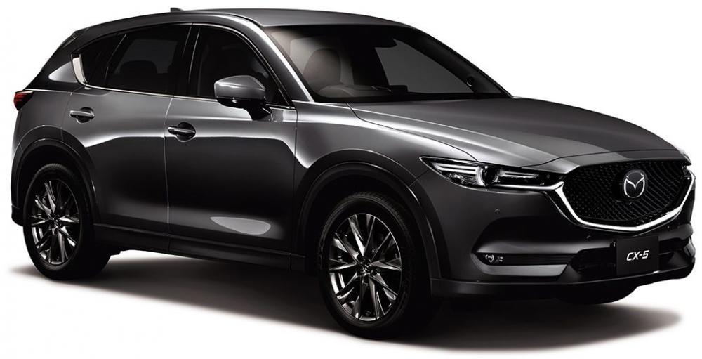 Mazda CX-5 2019 không thay đổi về thiết kế tổng thể