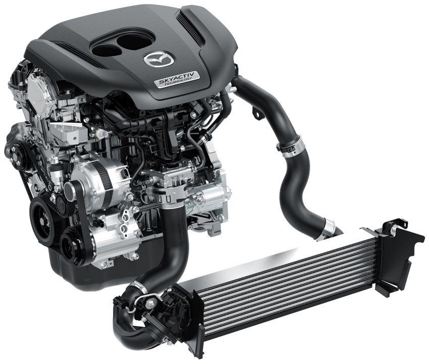 Động cơ xăng tăng áp 2,5 lít mới của Mazda CX-5 2019