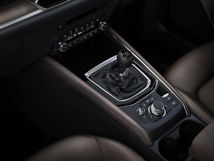 Mazda CX-5 2019 sử dụng hộp số tự động hoặc sàn 6 cấp