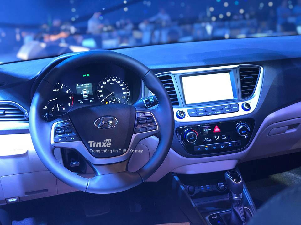 Nội thất Hyundai Accent 2018