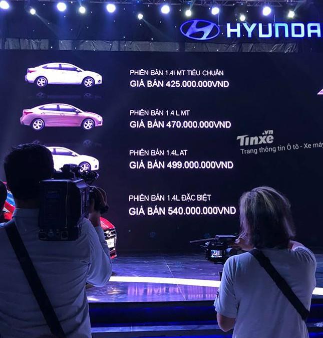 Giá thành là yếu tố đáng cân nhắc của Hyundai Accent
