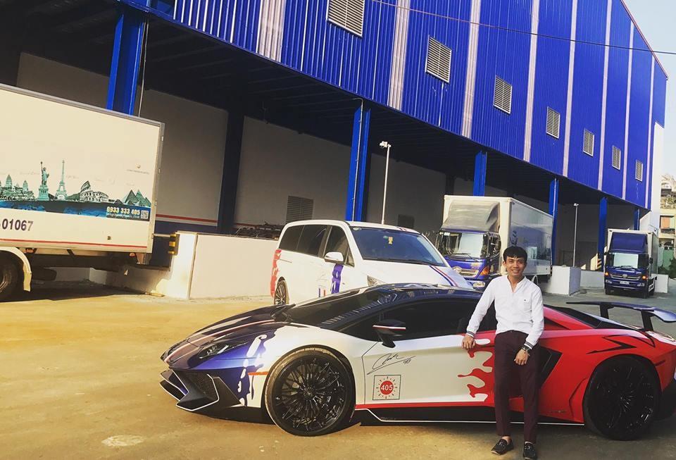 Lamborghini Aventador SV của Minh Nhựa chỉ có đúng 600 chiếc trên toàn thế giới