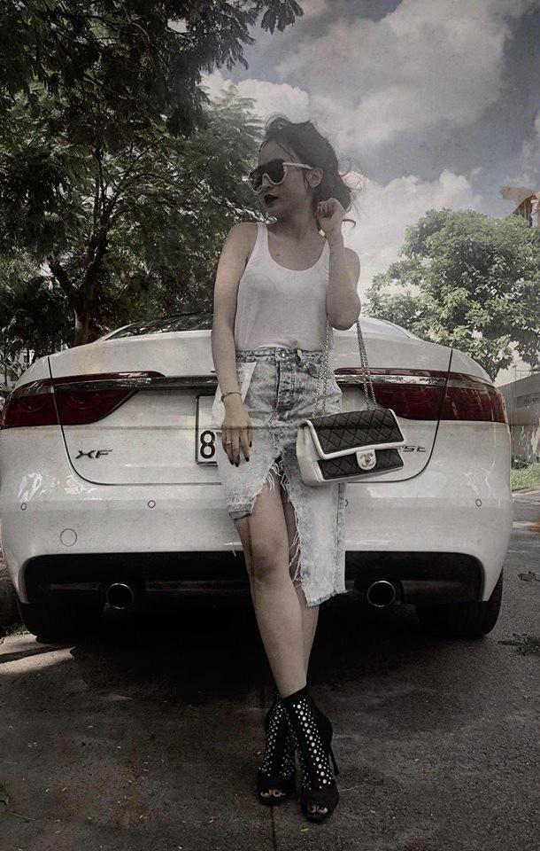 Jaguar XF của vợ Minh Nhựa có giá bán hơn 2,8 tỷ đồng