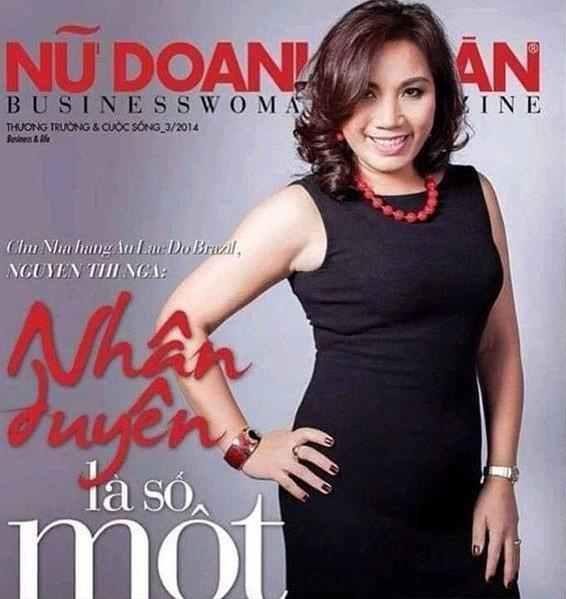 Bà Nguyễn Thị Nga là một doanh nhân sống tại TPHCM