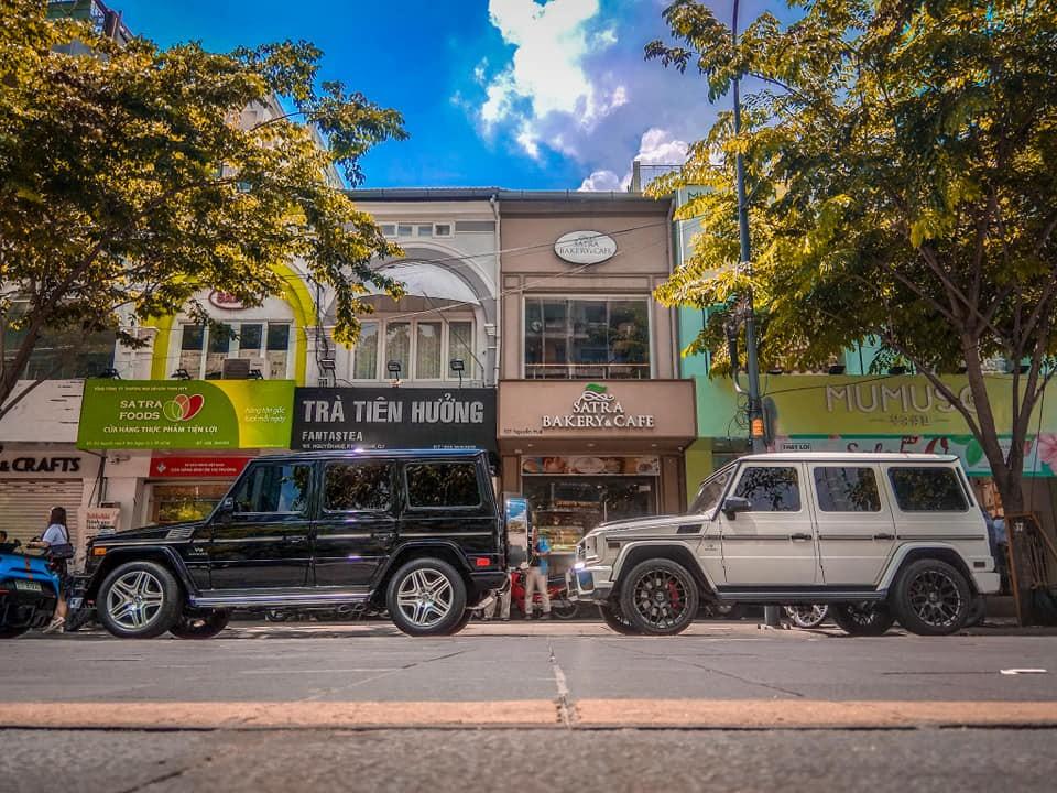 2 chiếc SUV hạng sang Mercedes-Benz G-Class chốt đoàn siêu xe