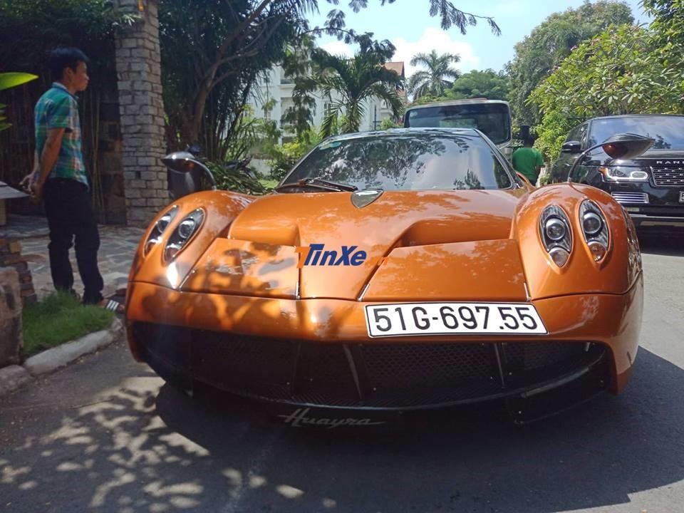 Pagani Huayra hiện đang nắm giữ kỷ lục chiếc xe đắt nhất Việt Nam
