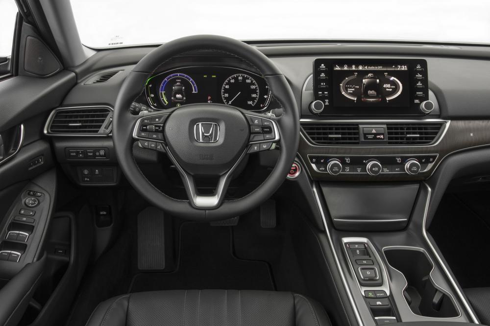 Nội thất bên trong Honda Accord 2019 bản cao cấp