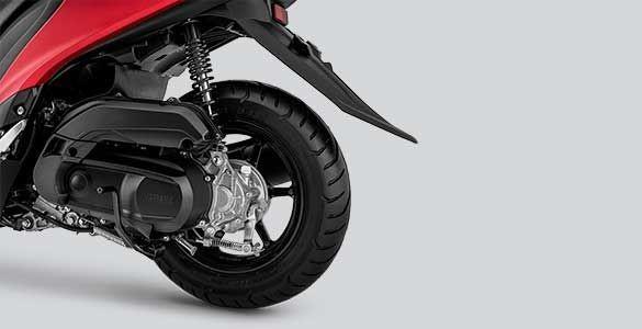 Yamaha FreeGo 125 được trang bị động cơ Blue Core 125cc xi-lanh đơn, 4 thì, SOHC, làm mát bằng không khí, có công suất tối đa 9.5 PS tại 8.000 vòng/phút và mô-men xoắn cực đại 9.5 Nm tại 5.500 vòng/phút.
