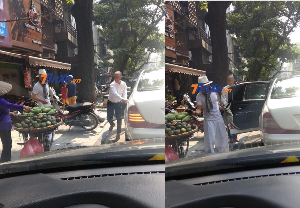 Doanh nhân Đặng Lê Nguyên Vũ xuất hiện trên đướng phố Hà Nội với bộ đồ tông xuyệt tông cùng màu sơn của chiếc xe siêu sang Maybach 62S