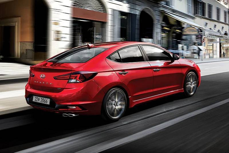 Hyundai Elantra Sport 2019 dùng động cơ mạnh hơn phiên bản thường
