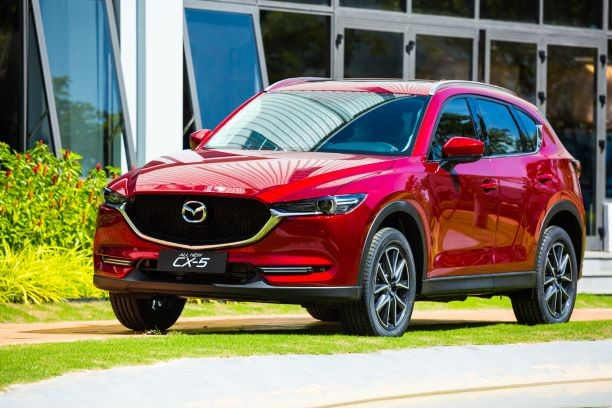 Mazda CX-5 màu Soul Red Crystal