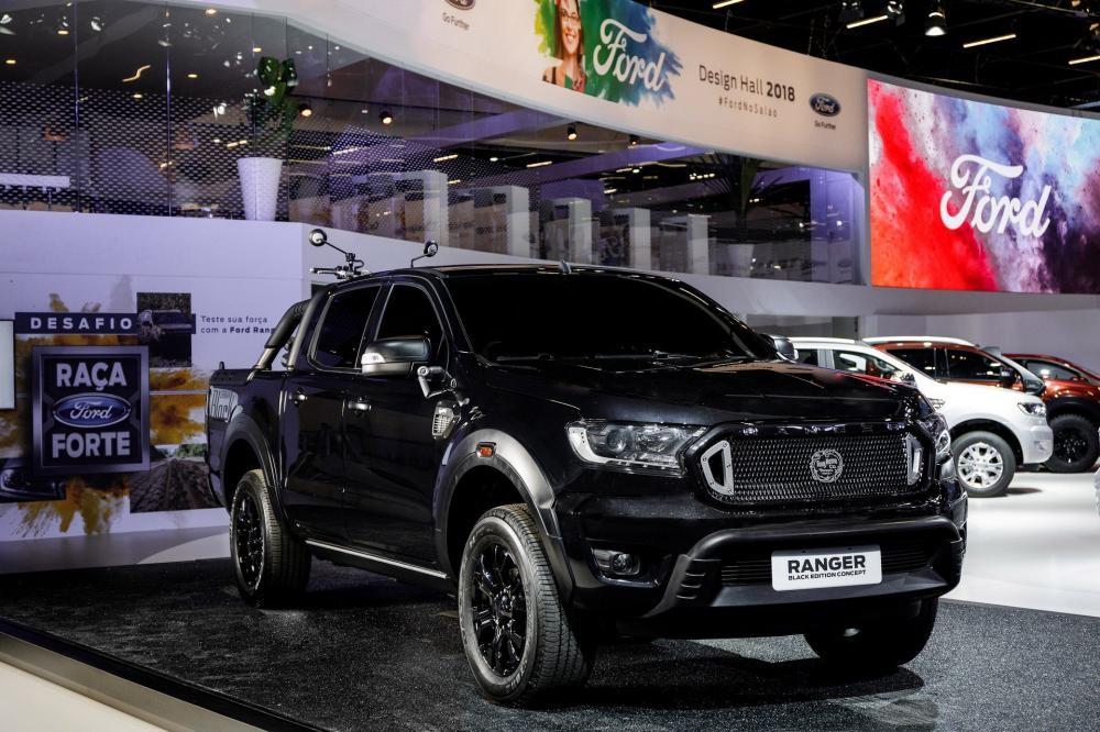Ford Ranger Black Edition trong triển lãm Ô tô Sao Paulo 2018