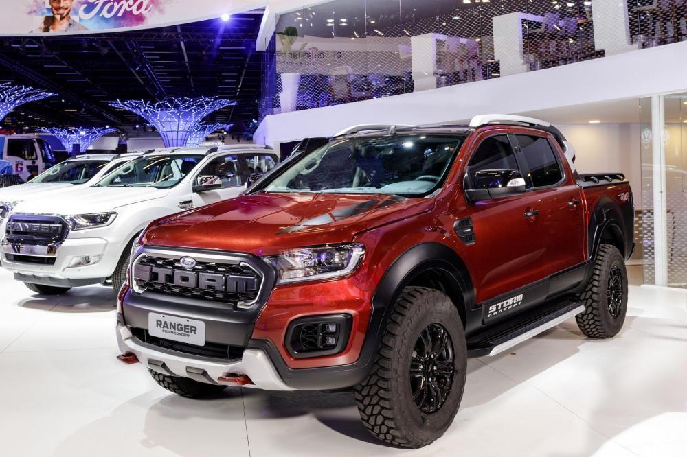 Ford Ranger Storm ra mắt trong triển lãm Ô tô Sao Paulo 2018