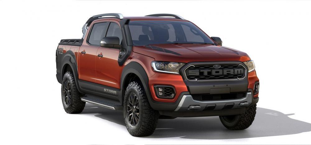 Ford Ranger Storm sở hữu phần đầu xe hầm hố
