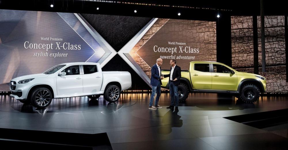 Xe bán tải hạng sang Mercedes-Benz X-Class hiện chưa được bán tại Mỹ