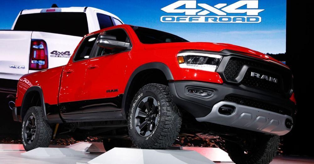 Ram 1500 Rebel 2019 được trưng bày trong triển lãm Ô tô Detroit 2018