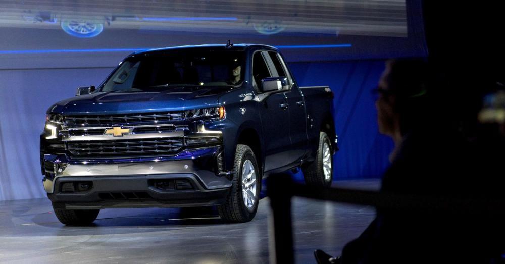 Chevrolet Silverado 2019 ra mắt trong triển lãm ô tô Detroit 2018
