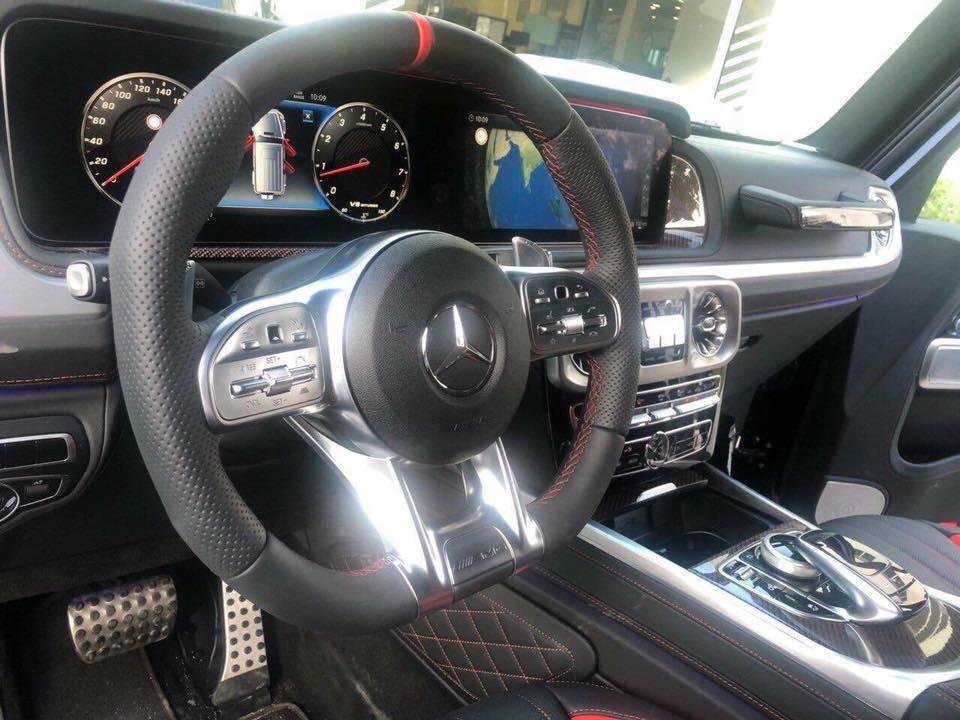 Dù thuộc phiên bản Edition 1, tuy nhiên, chiếc Mercedes-AMG G63 đời 2019 thứ 2 lộ diện trên mạng xã hội vẫn có động cơ tương tự như bản tiêu chuẩn