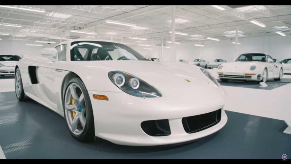 Ngôi sao sáng trong bộ sưu tập, Porsche Carrera GT