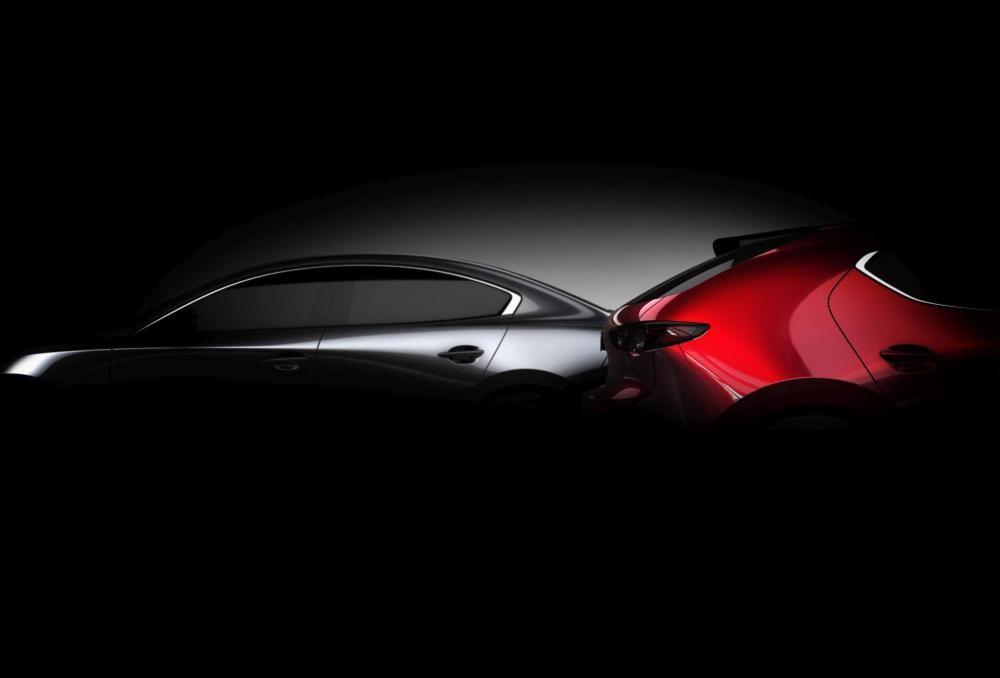 Mazda3 2019 sẽ có cả dáng sedan và hatchback