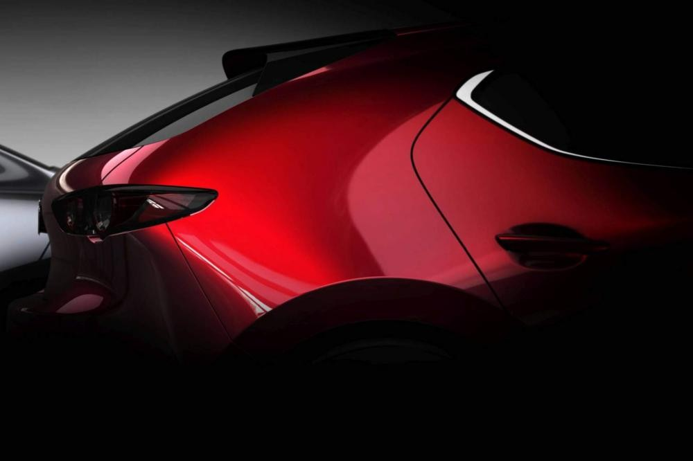 Đuôi xe Mazda 2019 bản hatchback