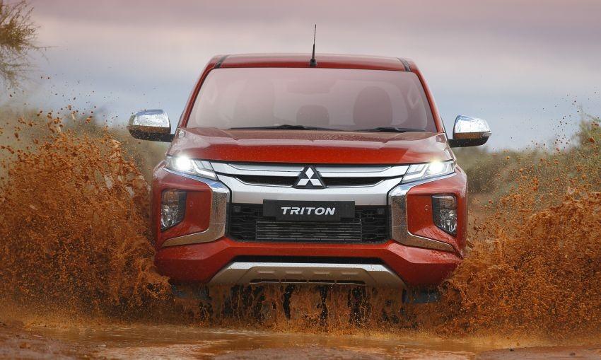 Mitsubishi Triton 2019 được áp dụng ngôn ngữ thiết kế Dynamic Shield mới
