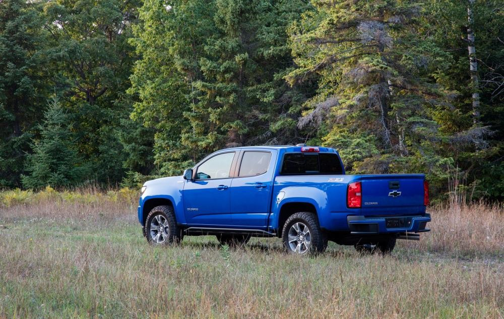 Chevrolet Colorado Z71 Trail Runner