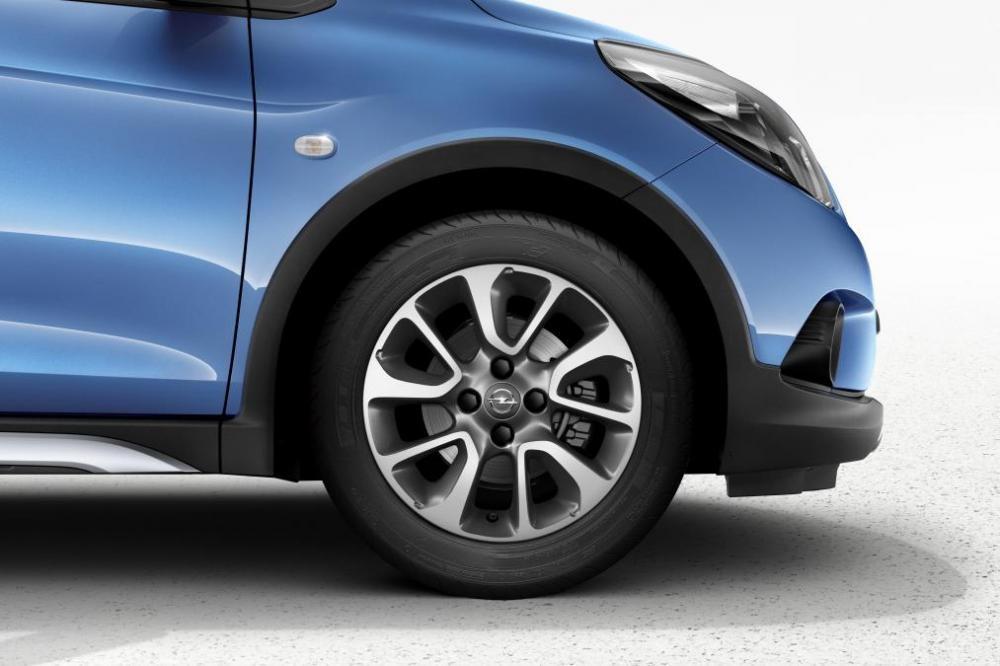 Vành la-zăng của VinFast Fadil cũng giống với Opel Karl Rocks