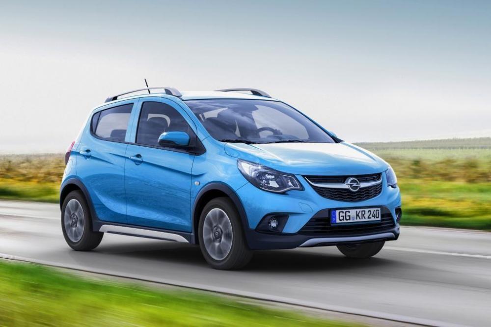 Opel Karl Rocks chỉ có 1 động cơ là máy xăng 3 xi-lanh, dung tích 1.0 lít