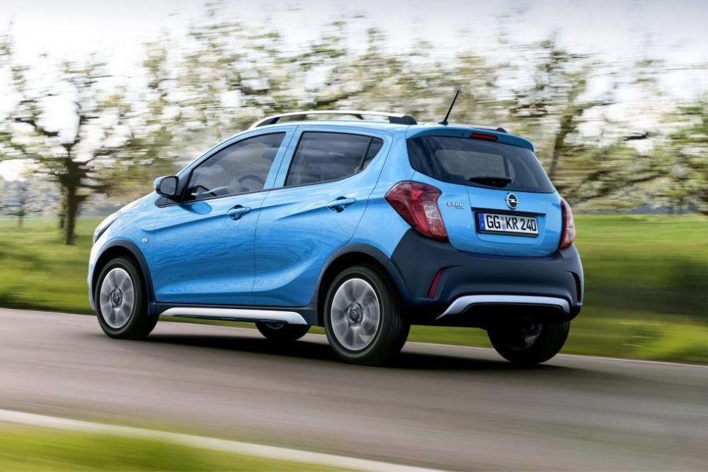 Opel Karl Rocks có giá khá mềm ở thị trường châu Âu