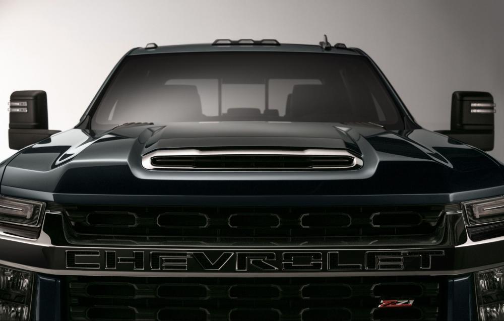 Hình ảnh đầu tiên của Chevrolet Silverado 3500HD 2020