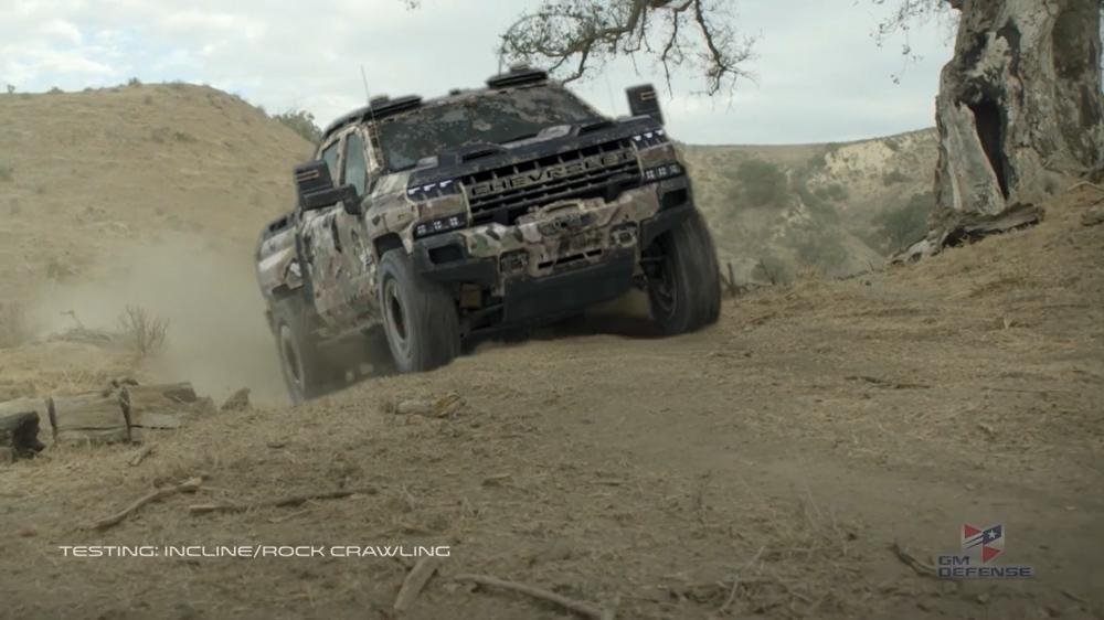Chevrolet Silverado ZH2 có thể phục vụ các lực lượng đặc biệt