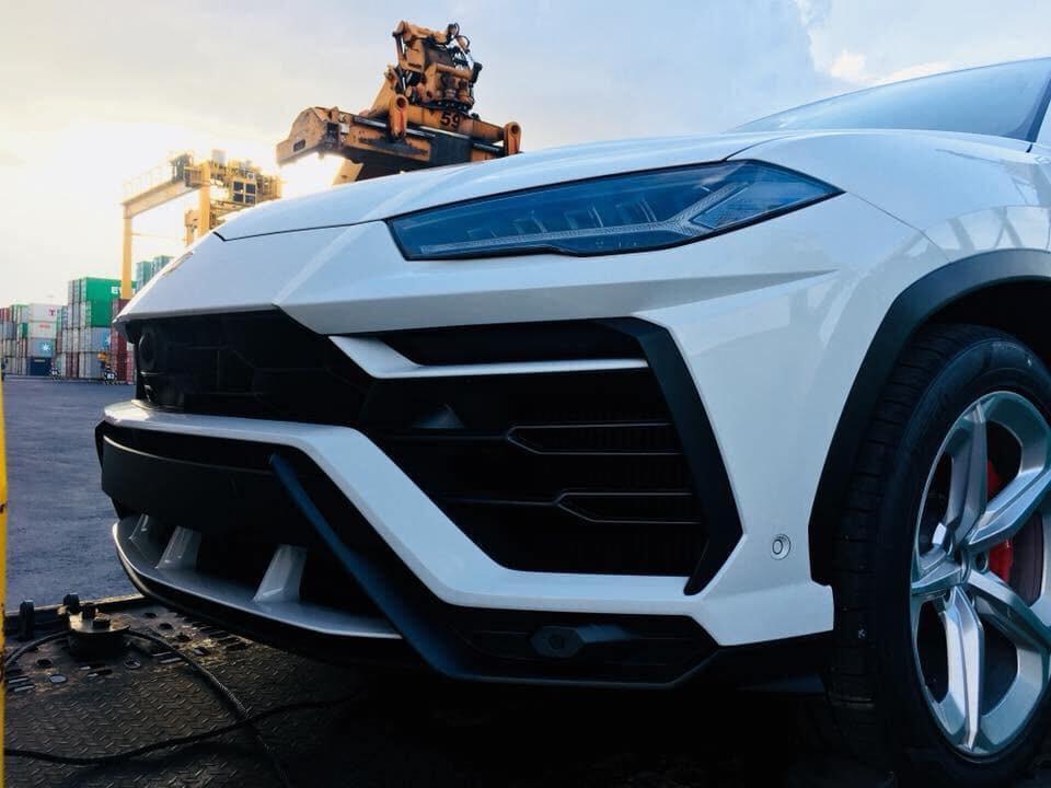 Lamborghini Urus về Việt Nam