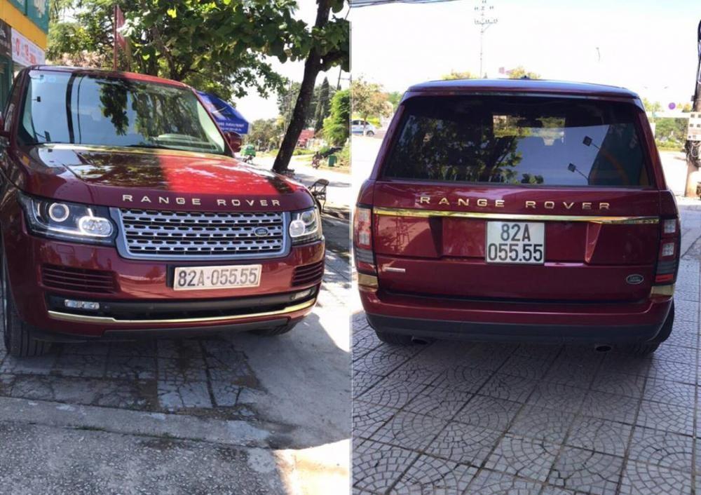 Chiếc SUV hạng sang Range Rover mang biển kiểm soát của Kon Tum còn có biển số tứ quý 5 ấn tượng