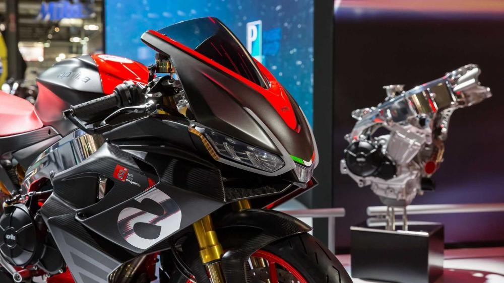 Nhăm nhe phân khúc hạng trung, Aprilia giới thiệu concept RS660