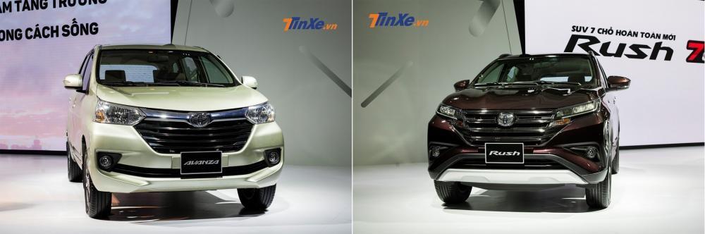 Toyota Avanza và Toyota Rush