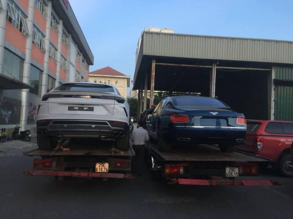 Siêu SUV Lamborghini Urus cùng Bentley Flying Spur V8 S Nam tiến