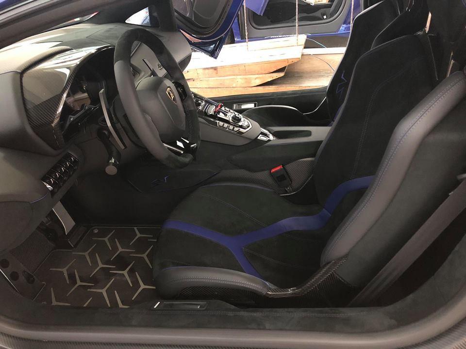 Nội thất Lamborghini Aventador SV Coupe độc nhất Việt Nam
