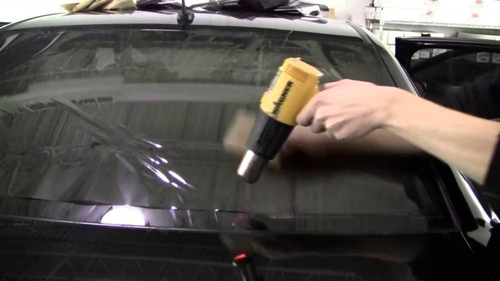 Dán phim chống nhiệt sai sách sẽ gây hư hại sấy kính ô tô34