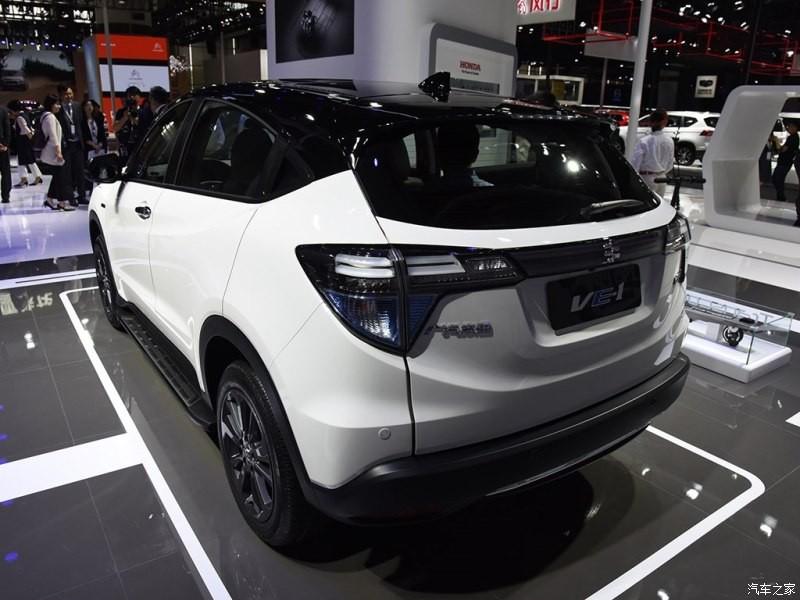 Honda VE1 được trang bị các cột và nóc màu đen