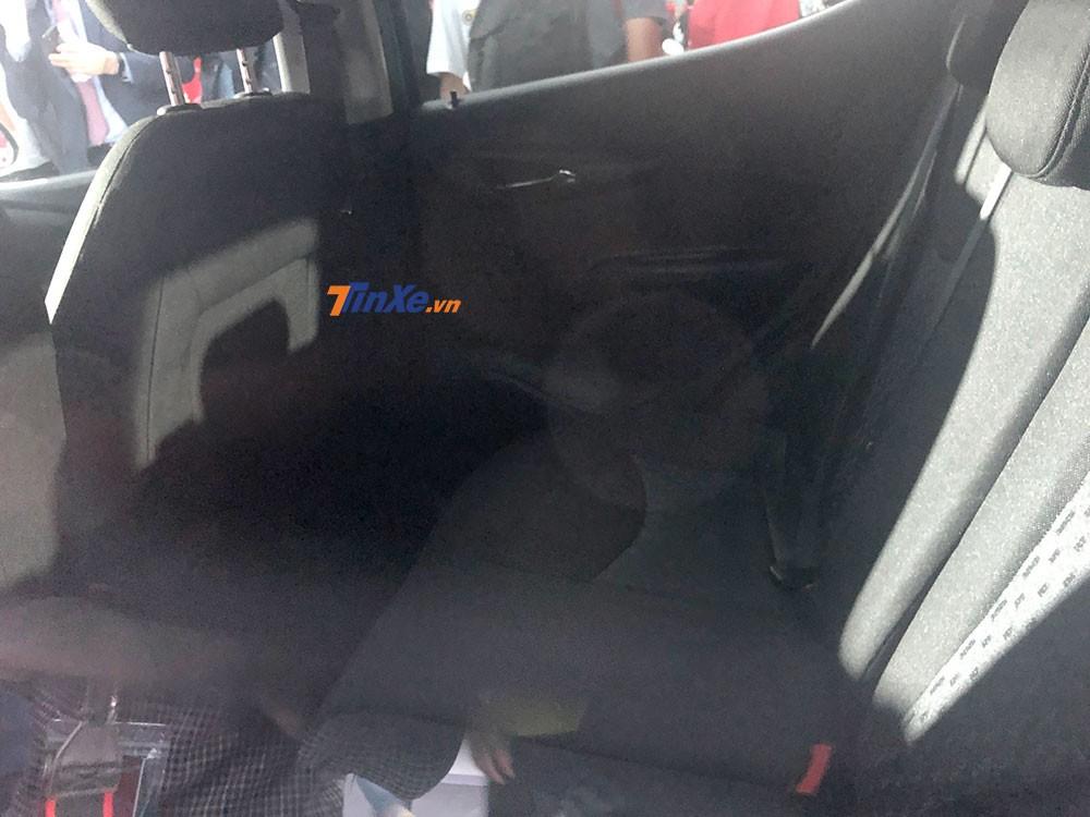 Hàng ghế sau của VinFast Fadil