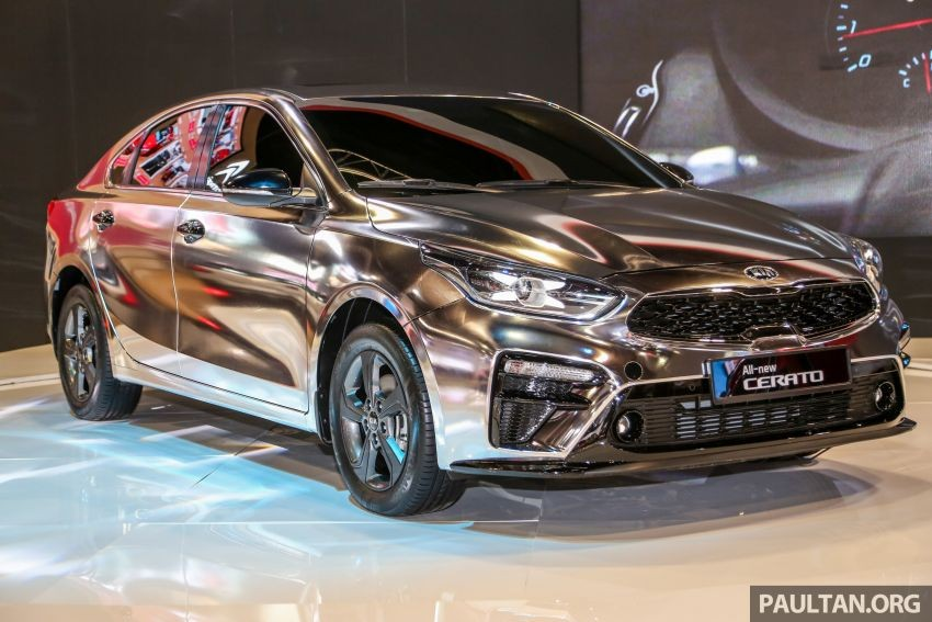 Kia Cerato 2019 mạ crôm ra mắt tại thị trường Malaysia