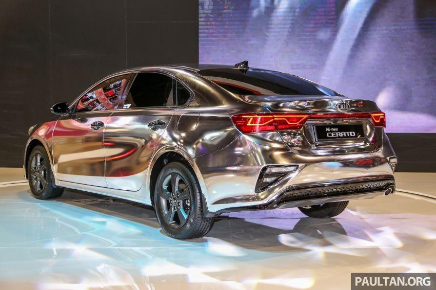 Chưa rõ Kia Cerato 2019 tại Malaysia dùng động cơ nào