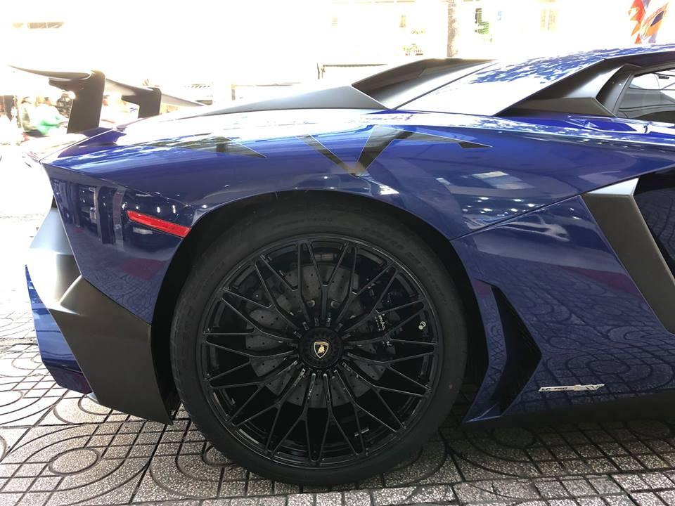 Bộ mâm đa chấu của Lamborghini Aventador SV