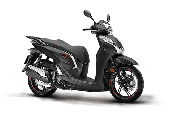 Honda SH 300i is imported from Europe