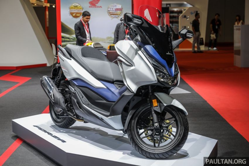Honda Forza 300 has been available in some Southeast Asian markets such as Thailand, Indonesia or Malaysia