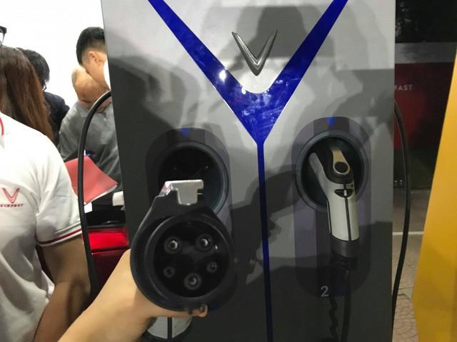Trạm sạc nhanh của Vinfast dành cho xe máy điện