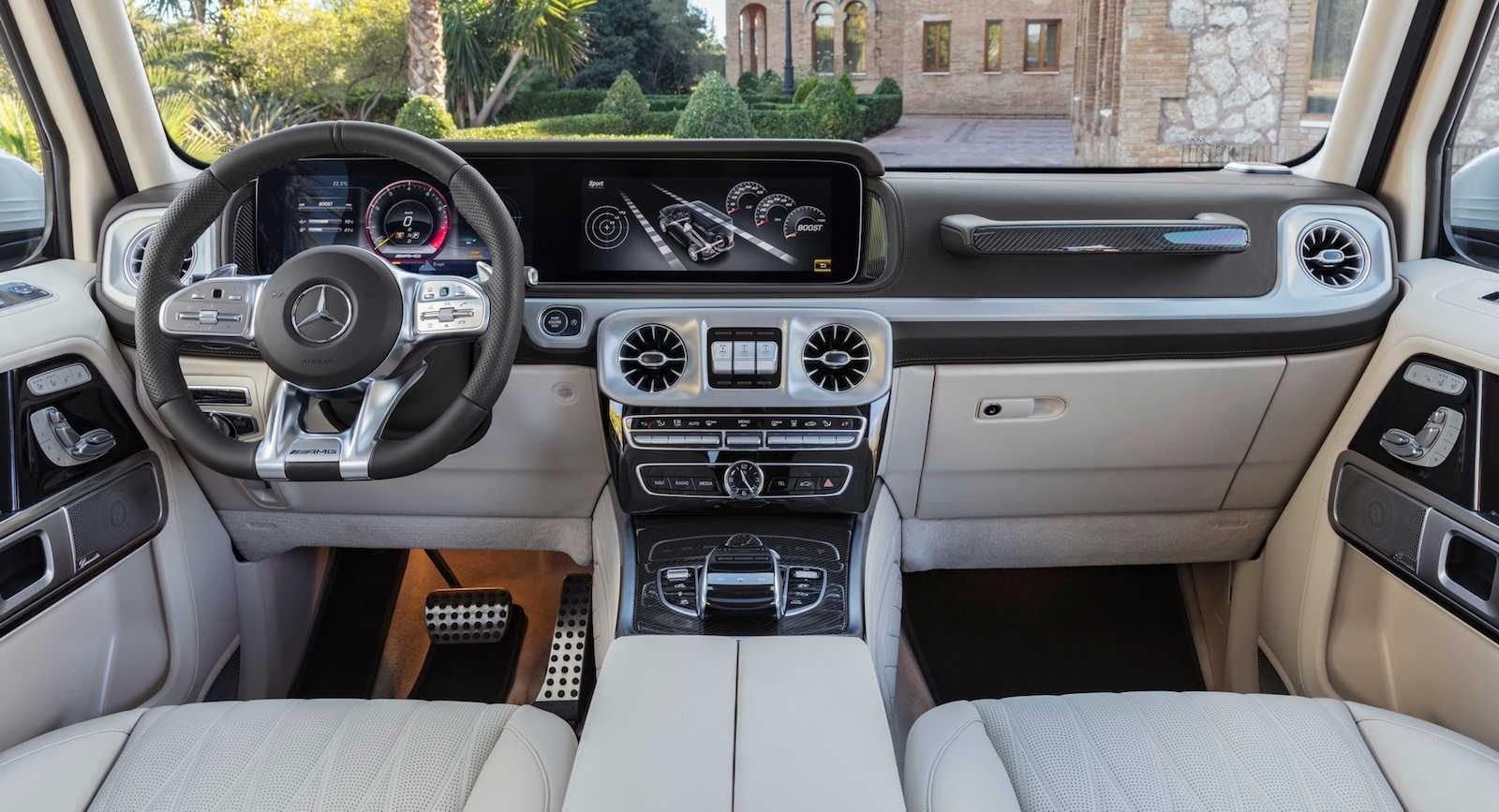 Nội thất sang trọng bên trong Mercedes-AMG G63 2019
