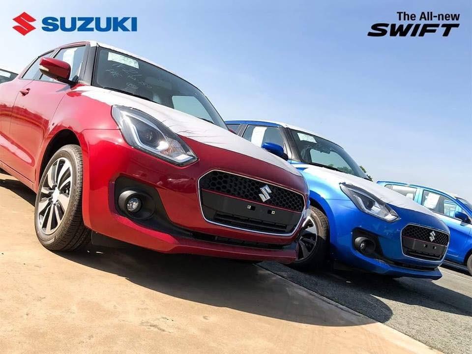 Suzuki Swift 2018 tại Việt Nam chỉ có 2 bản trang bị là GL và GLX