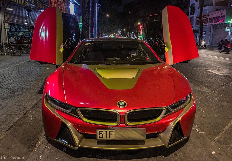 BMW i8 phiên bản Iron Man